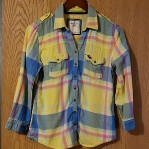 Abercrombie & Fitch Flannel Button Down Shirt